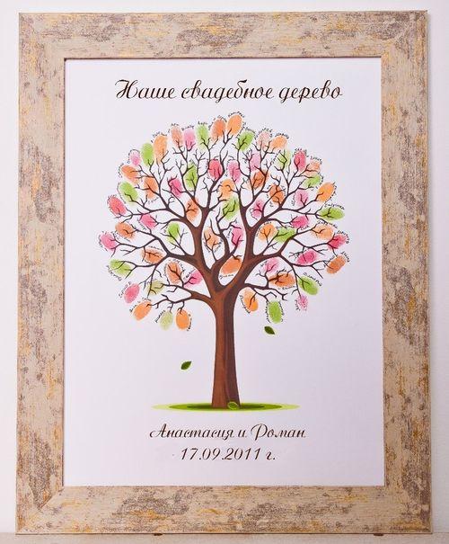Поздравления деревом счастья