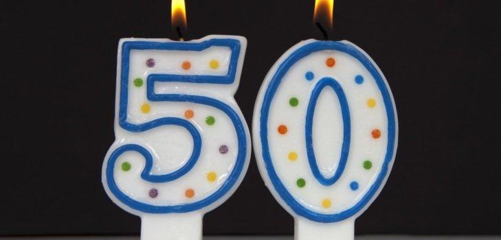 Поздравления с юбилеем 50 женщине в прозе
