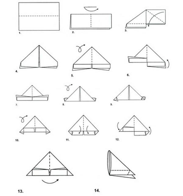 Треугольные открытки как сделать бумаги