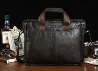 Мужские сумки из натуральной кожи оптом