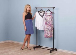 Что такое стойки для одежды и где применяются они?