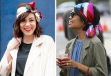 5 необычных способов носить платок или шарфик