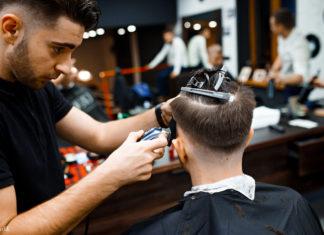 Услуги и предложения от мужской парикмахерской: запись