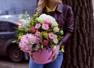 Плюсы в доставке цветов