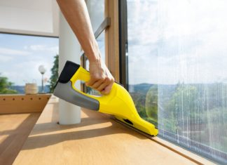 Пылесос для быстрого мытья окон