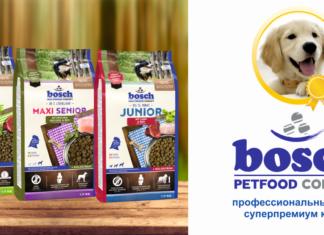 Особенности корма Бош для собак