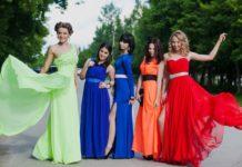 Выбор платья на выпускной
