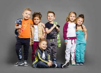 Разновидности детской одежды