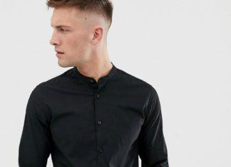 Рубашки мужские черные