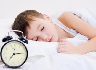 Залог здорового детского сна