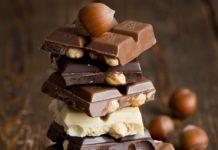 Польза шоколадных конфет с орехами