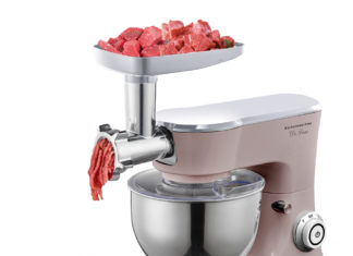 Кухонный комбайн с функцией мясорубки