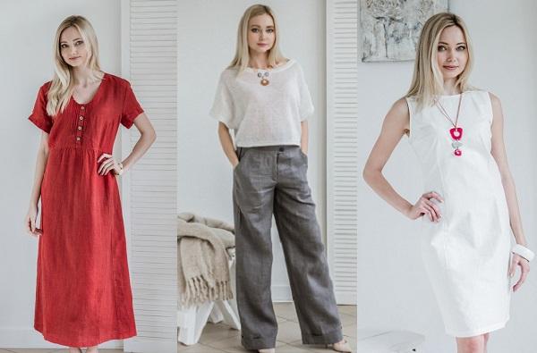 Преимущества одежды изо льна