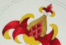 Золотое шитье: обучение для начинающих