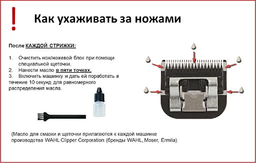 инструкция по уходу за ножами