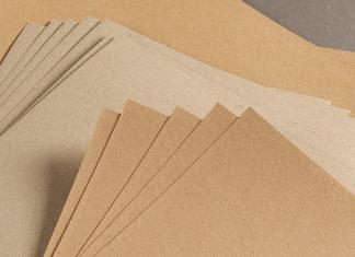 Виды картона для плоских слоев