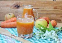 Польза свежевыжатого морковно-яблочного сока