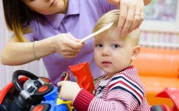 Особенности детской парикмахерской