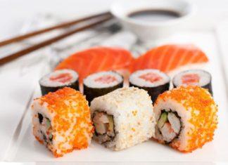 Преимущества заказа суши