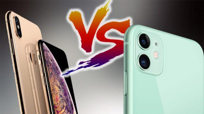 Apple iPhone 11 против Apple iPhone XS