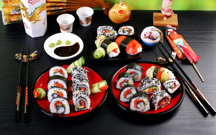 Самые популярные суши в мире