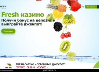 Лучшие условия обслуживания созданы в Fresh casino