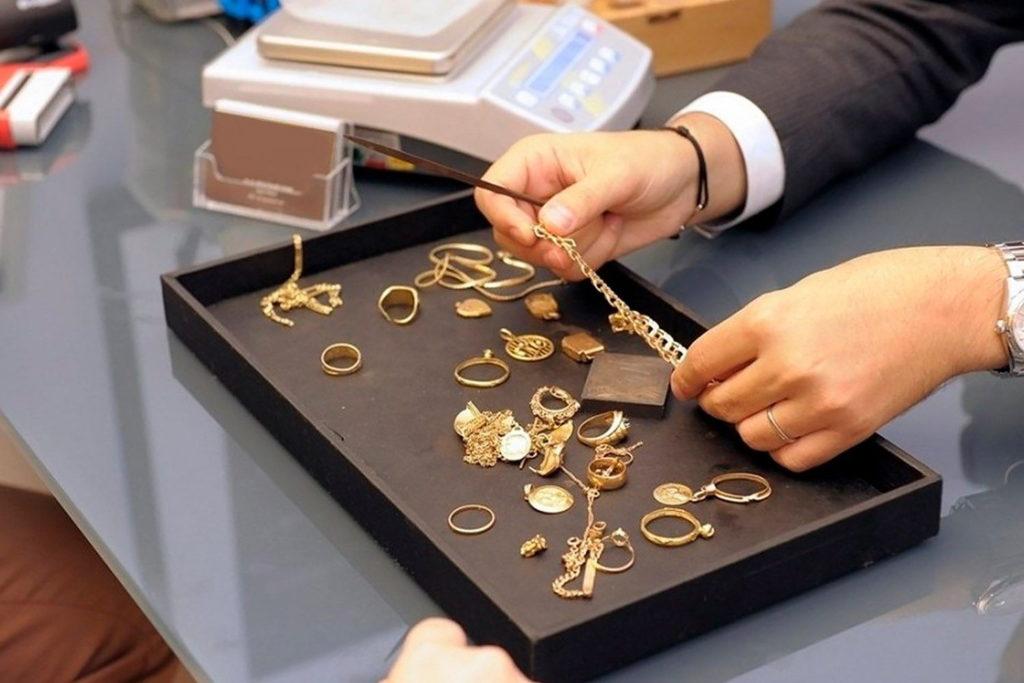 купить золотую цепочку бу