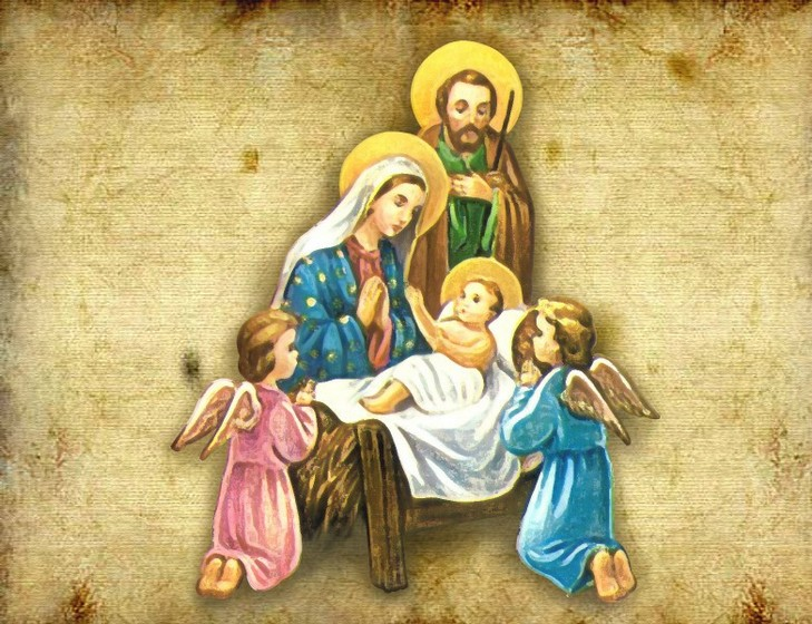 Христианские рождественские картинки на рабочий стол на весь экран, двойняшки